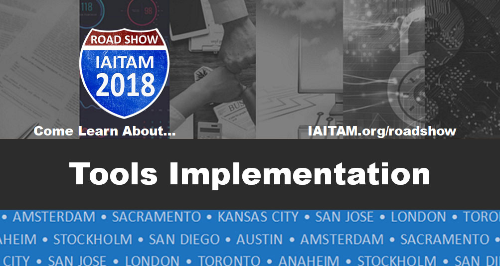 Tools Implementation Roadshow Session Topic
