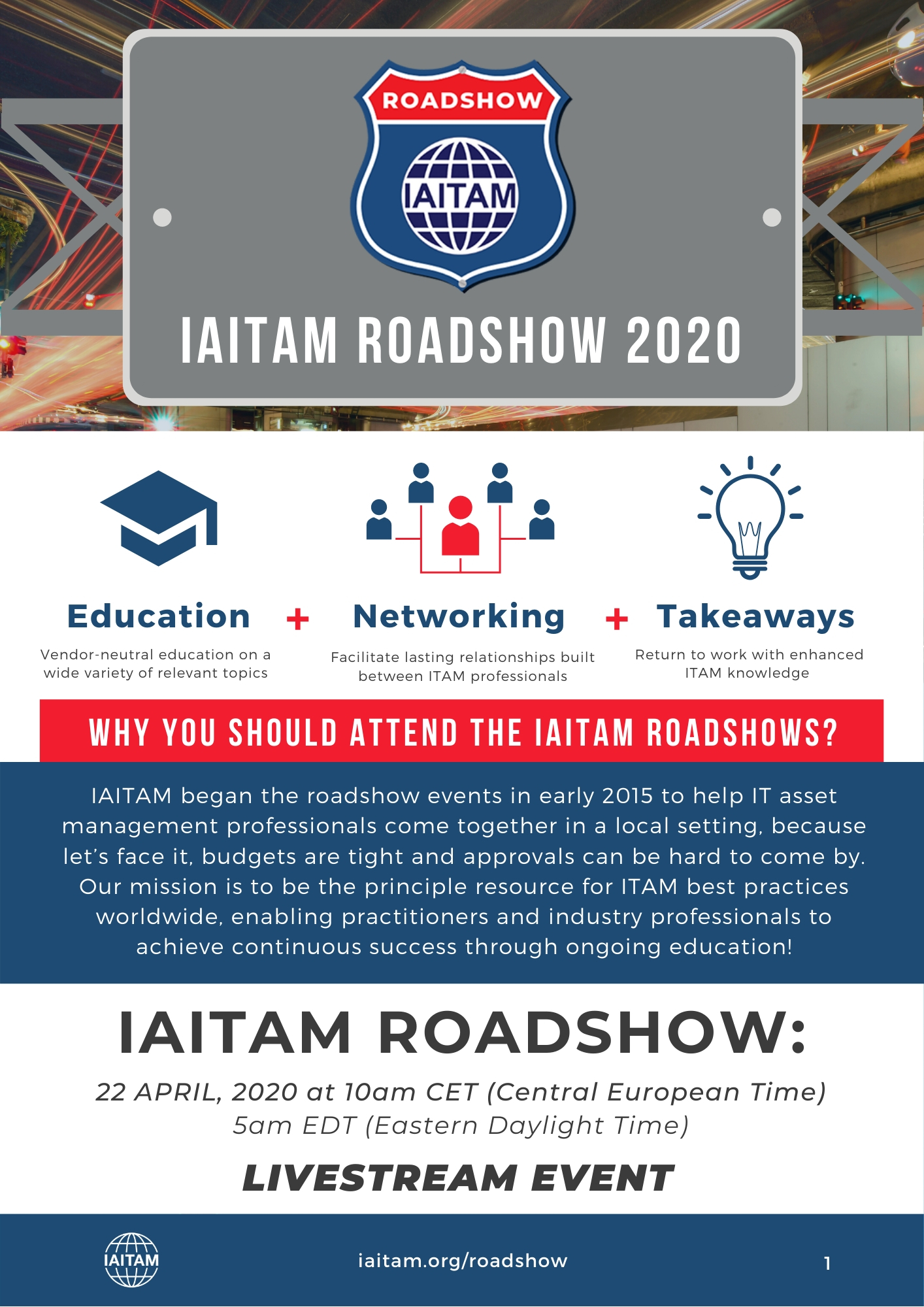 2020 Road Show Information Booklet