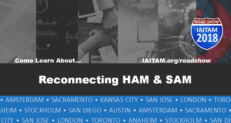 Reconnecting HAM & SAM Session Topic
