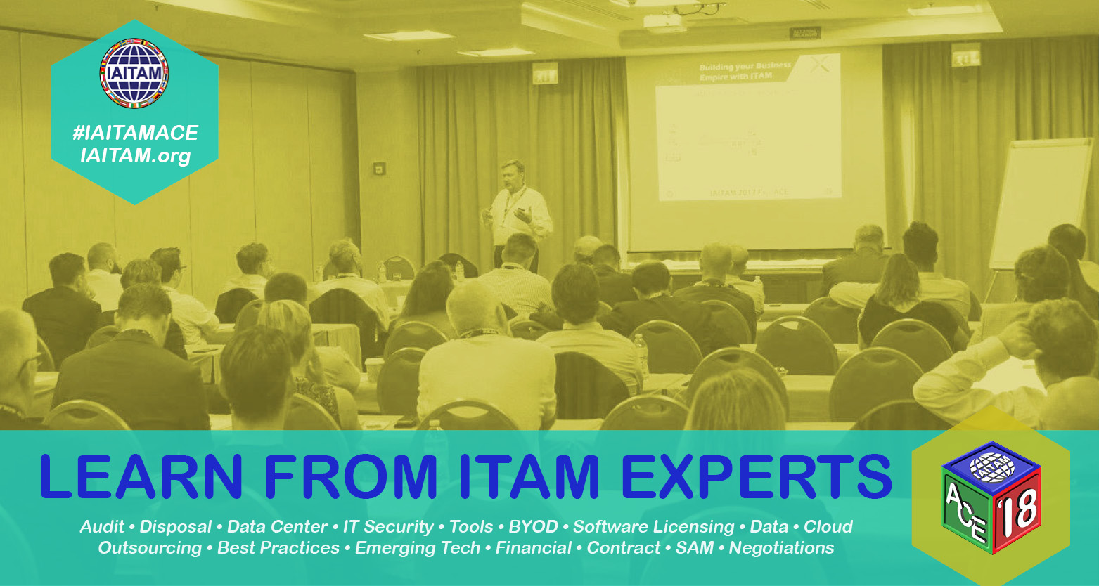 Learn from ITAM Experts at the European IAITAM ACE 2018