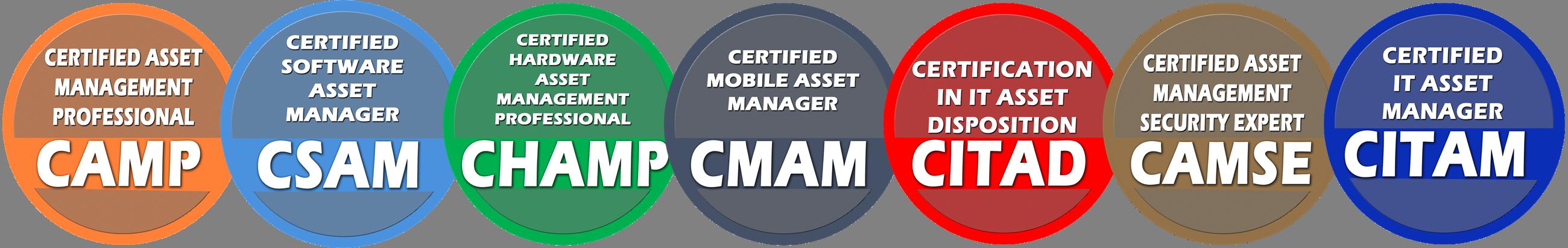 IT Asset Management Certifications