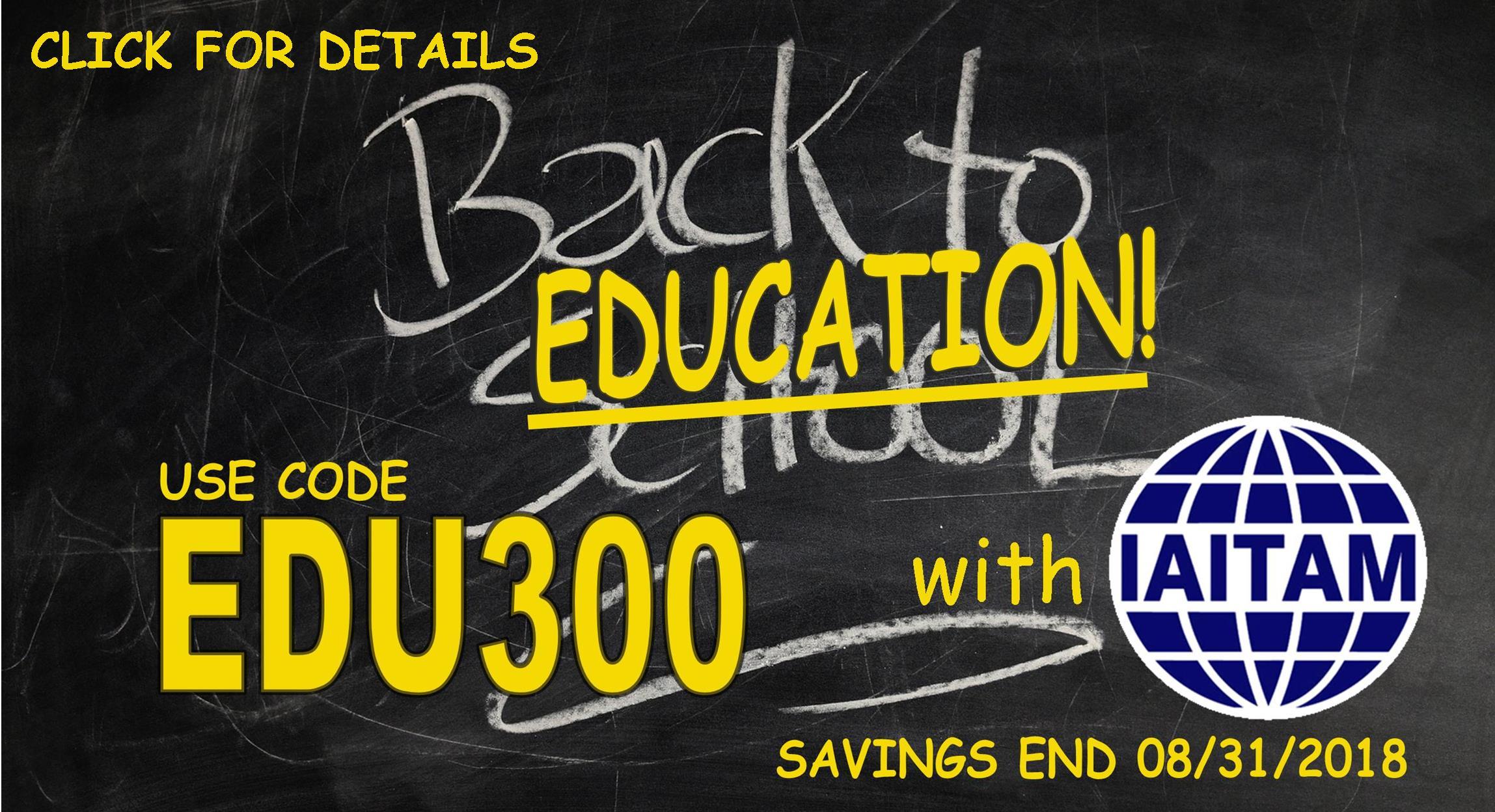 Iaitam itam education membership and conferences itam conference speaker call edu300 special savings malvernweather Gallery