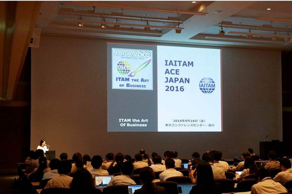 2016 Japan ITAM Conference