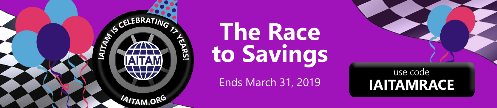 Race to Savings with IAITAM!