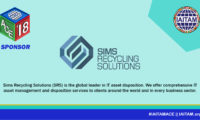 Thank you Sims Recycling Solutions, Sponsor at the IAITAM ACE!
