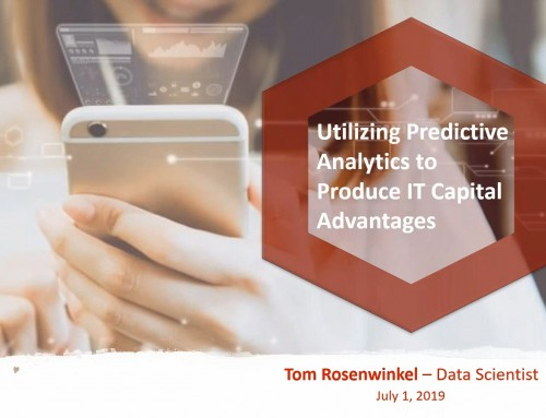 Open iT: Utilizing Predictive Analytics to Produce IT Capital Advantages
