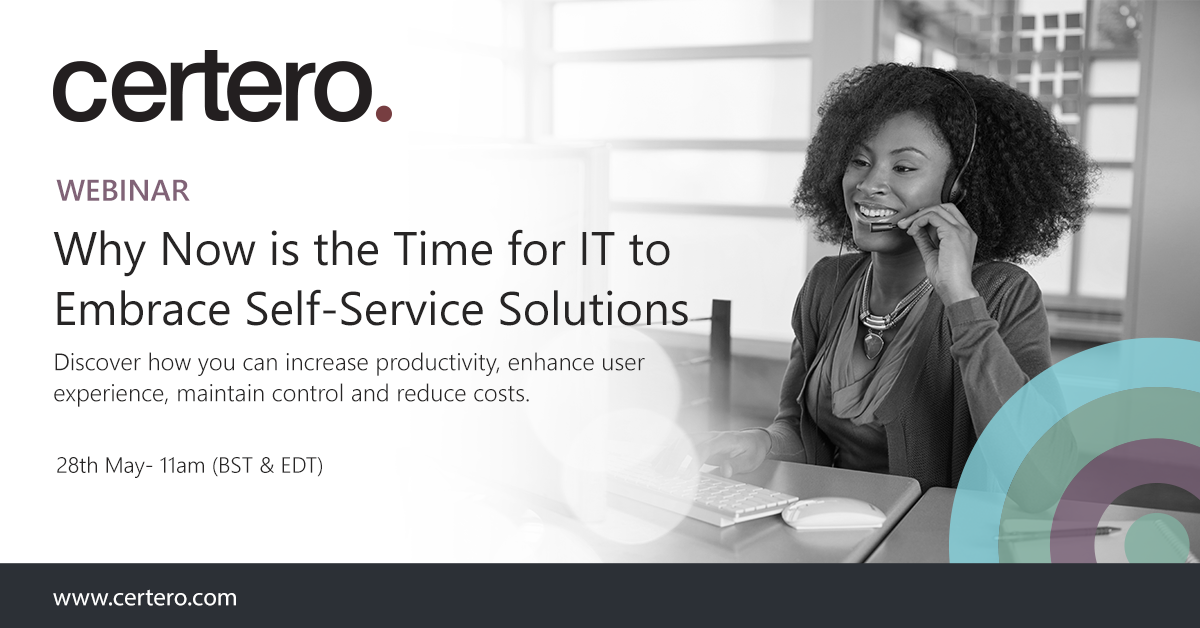Why Now is the Time for IT to Embrace Self-Service Solutions