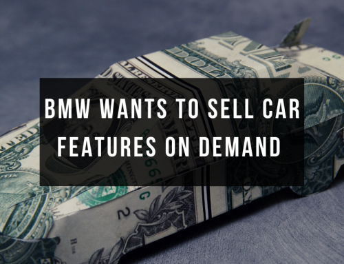 BMW Wants to Sell Car Features On Demand