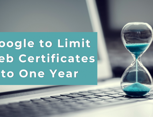 Google Joins Apple in Limiting Web Certificates to One Year