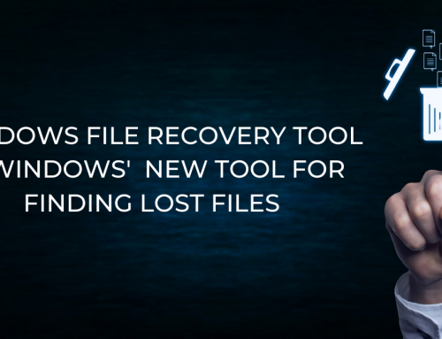 Windows File Recovery is Windows' New Tool for Finding Lost Files