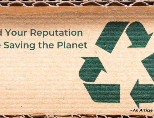 Build Your Reputation While Saving the Planet