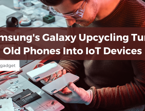 Samsung's Galaxy Upcycling Turns Old Phones Into IoT Devices
