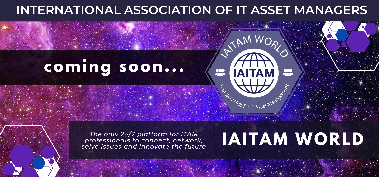 IAITAM World is coming soon!