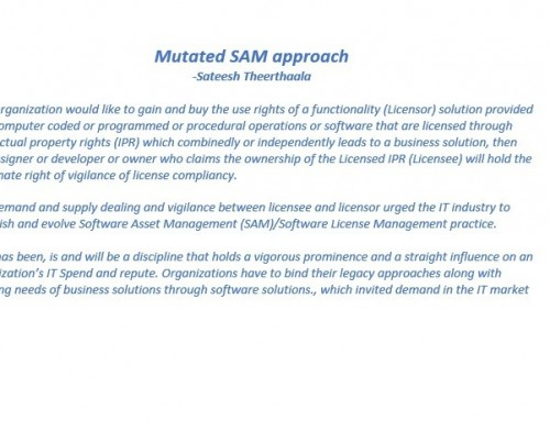 Mutated SAM Approach