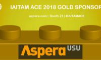 Thanks to Aspera, Gold Sponsor at IAITAM ACE!