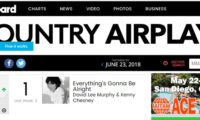 """Everything's Gonna Be Alright"" Claims #1 At Country Radio!"
